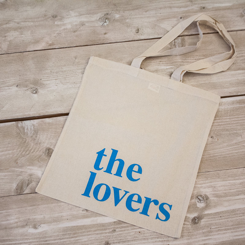 THE LOVERS BAG – neon blau 00009