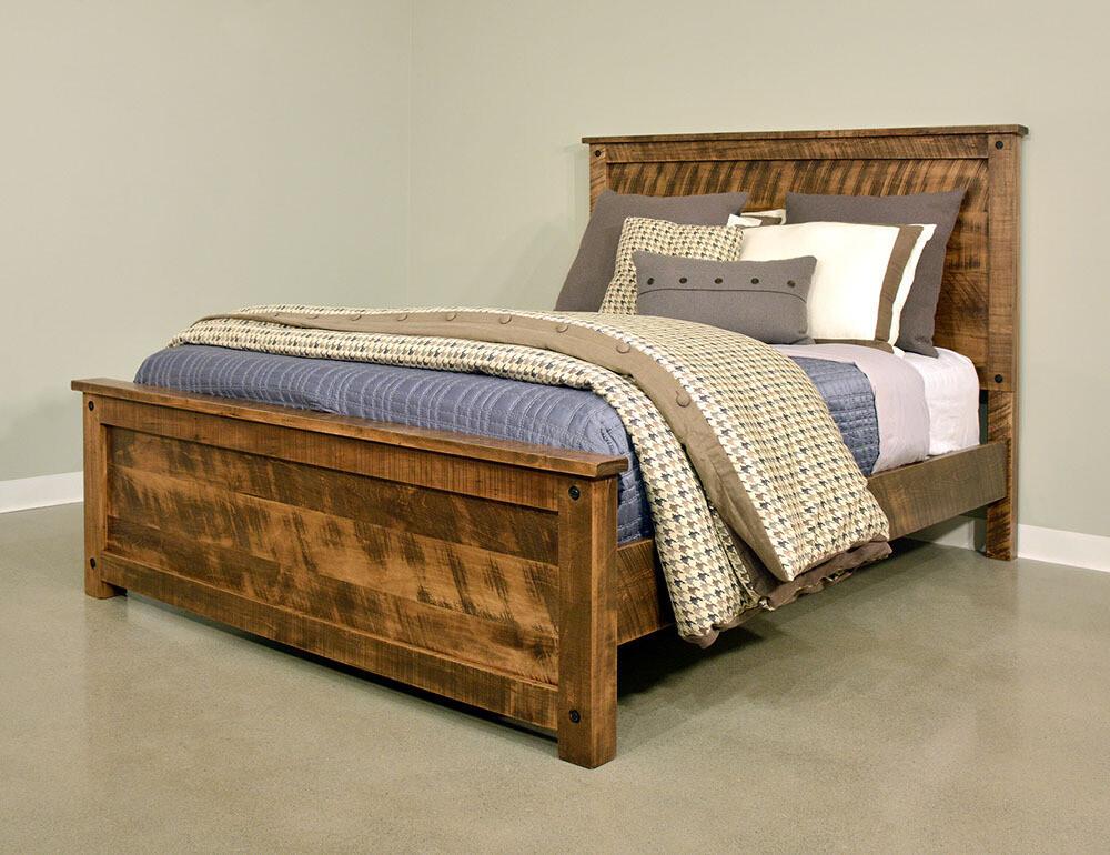 Adirondack Bed by Ruff Sawn