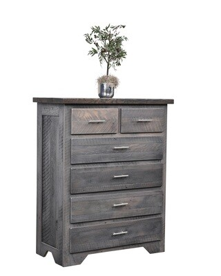 Urban Barnwood London Fog 6 Drawer Chest