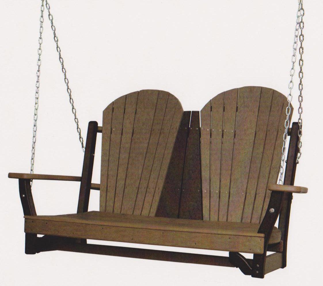 Byler's Patio Fanback Swing 615