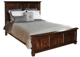 Algonquin Queen Bed by Ruff Sawn aq-l-w