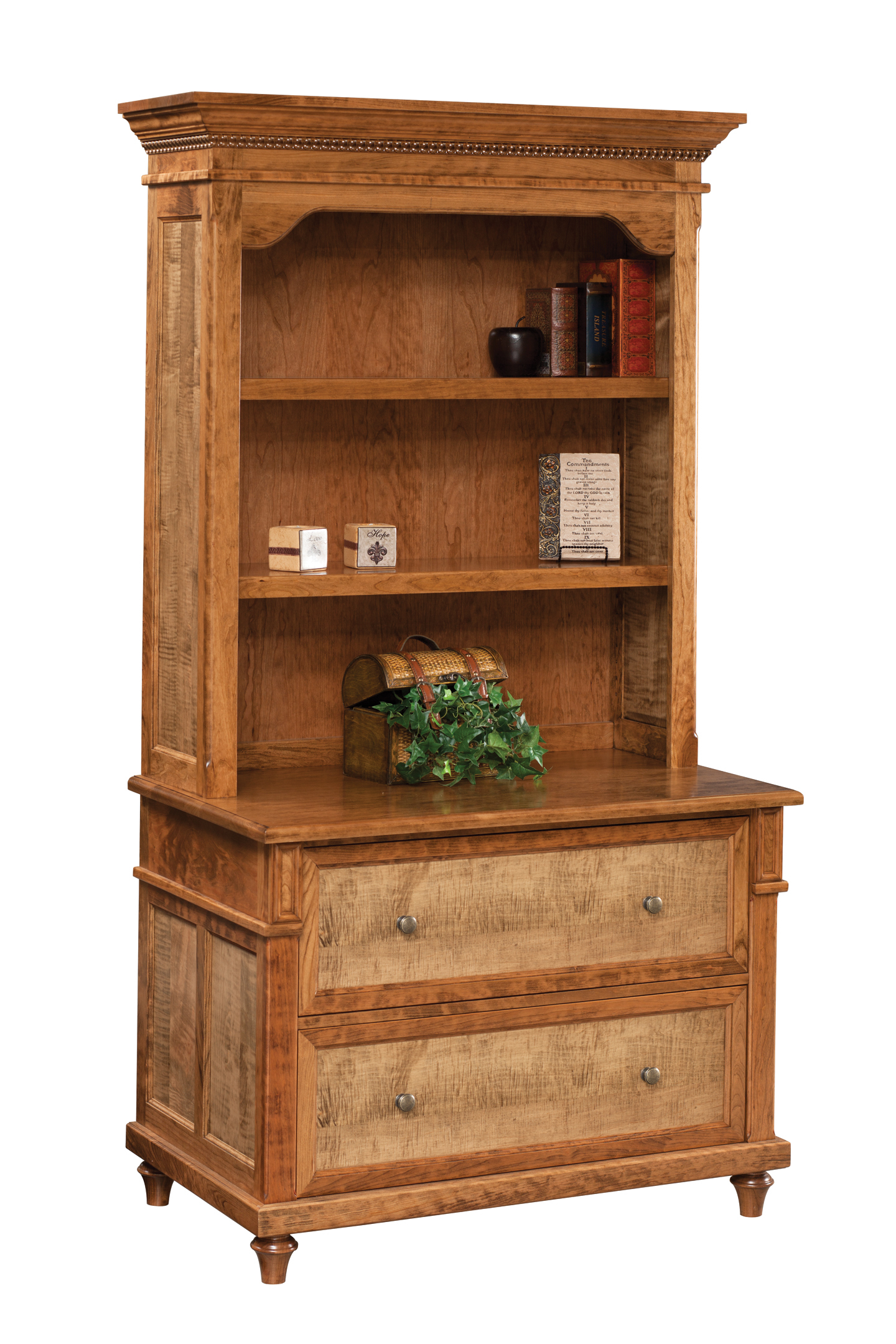 Bridgeport Lateral File & Bookshelf by Dutch Creek brid-904 brid-913