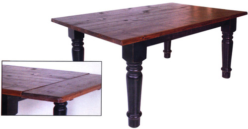 Rustic Harvest Dining Table by Ruff Sawn rh3648