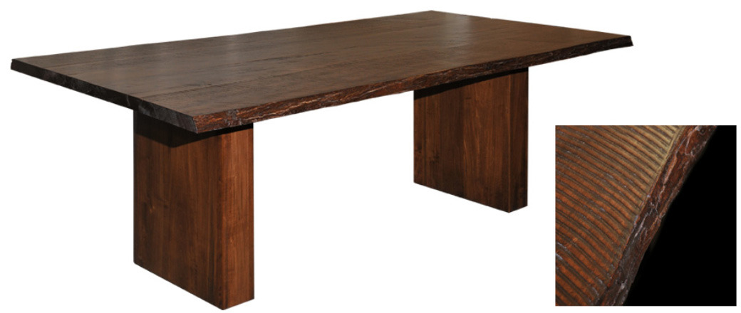 Live Edge Dining Table by Ruff Sawn live edge table