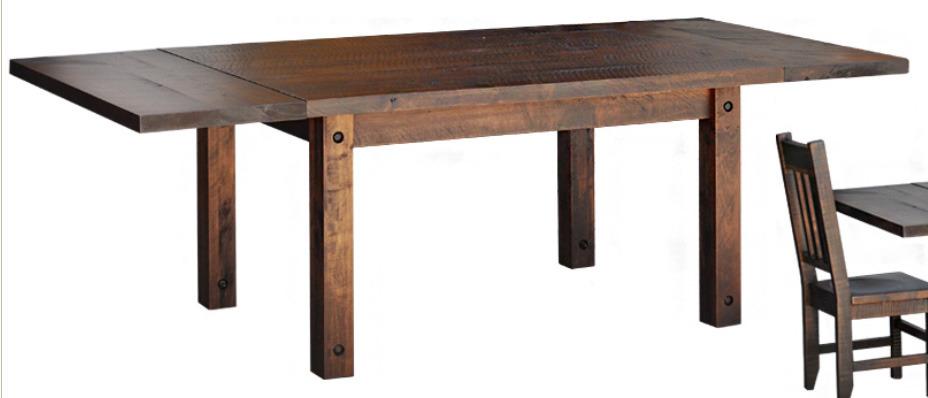 Ruff Sawn Muskoka Dining Table msk3648t