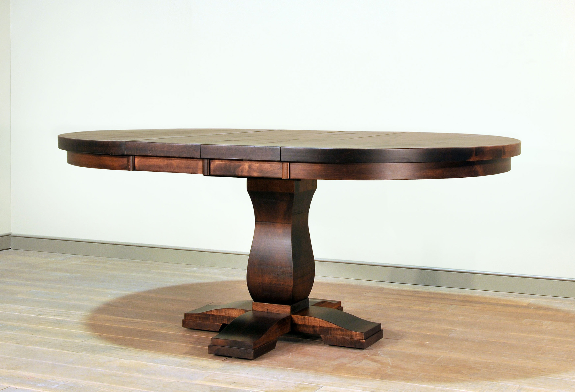 Tuscan Table with Leaves in