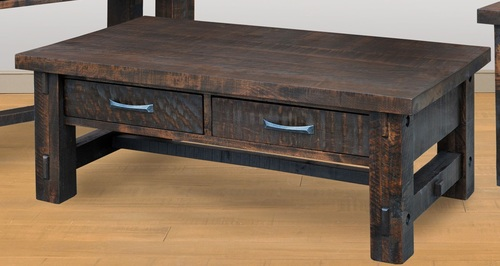 Timber Coffee Table by Ruff Sawn tco1950