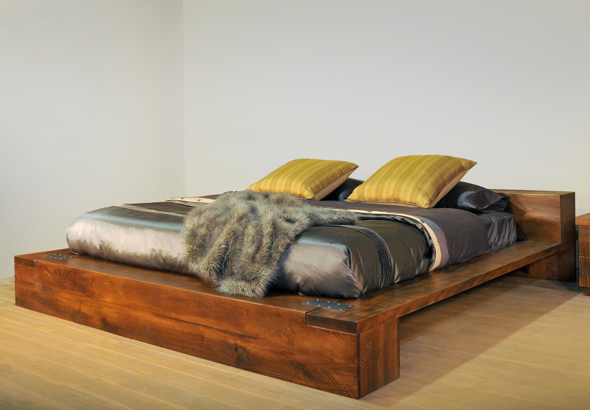 Arthur Philippe Queen Platform Bed by Ruff Sawn APQB