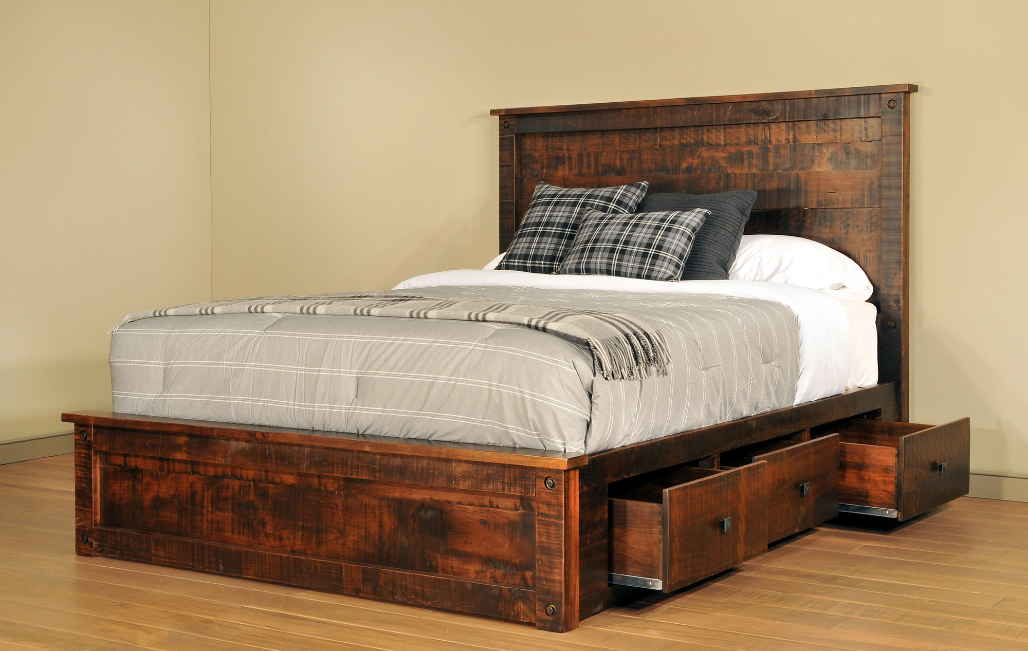 Muskoka Bed by Ruff Sawn