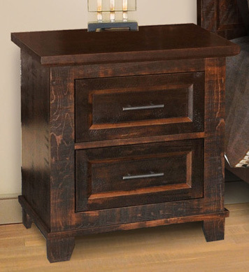 Algonquin Night Stand by Ruff Sawn A12-W