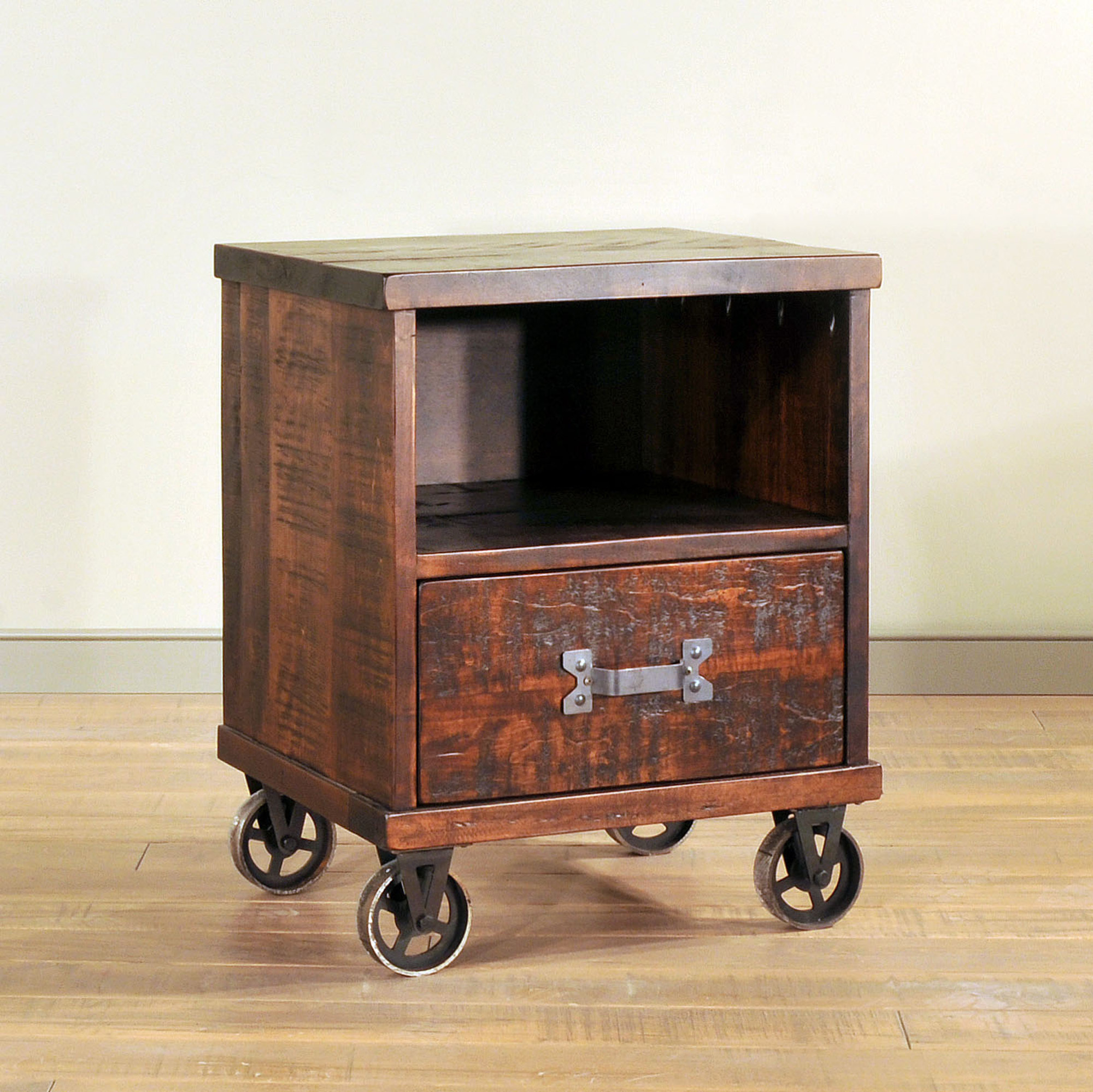Steam Punk Night Stand by Ruff Sawn SPN2022