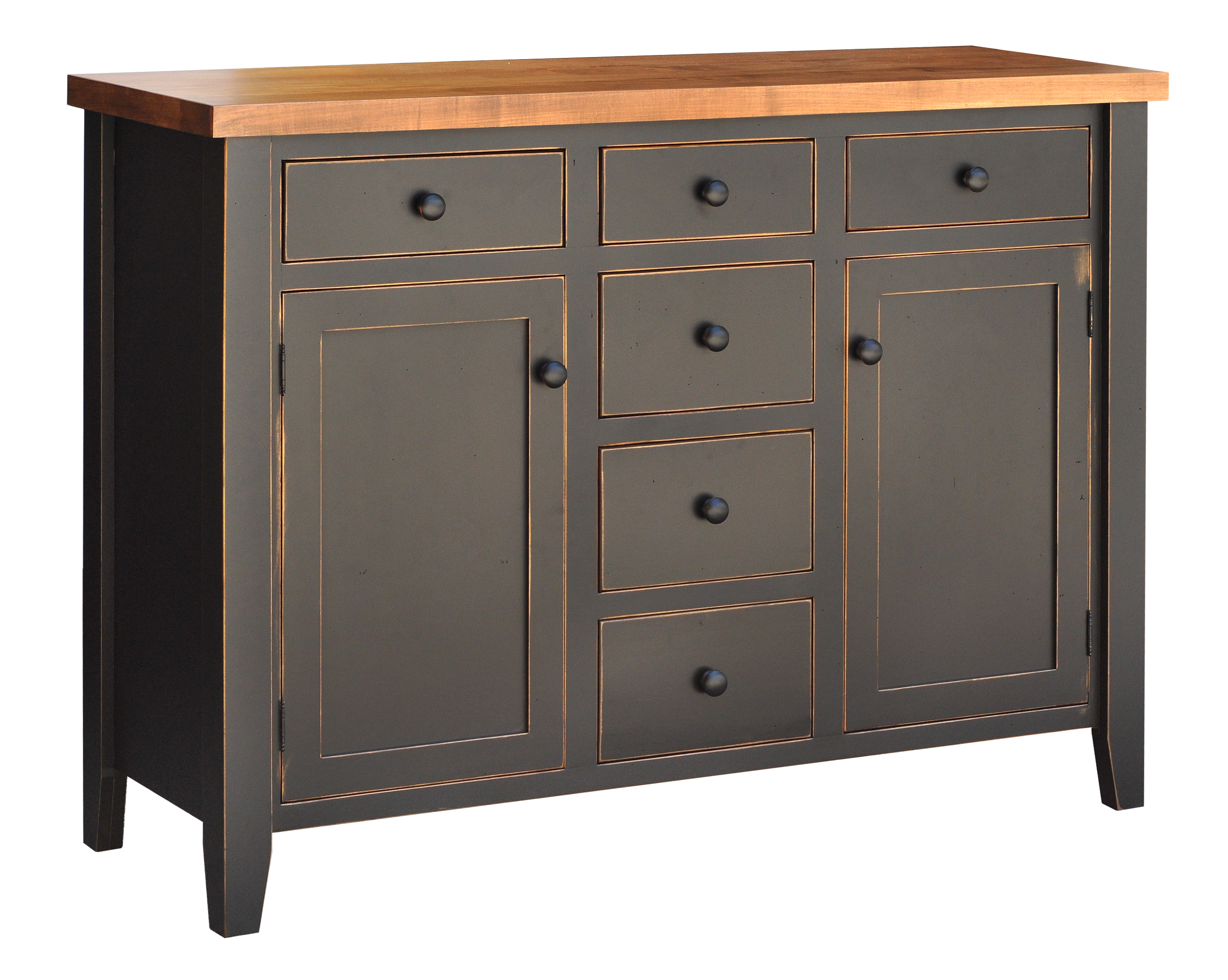 Farmhouse Sideboard by Ruff Sawn FSSB4460