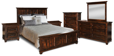 Algonquin Bedroom Set by Ruff Sawn