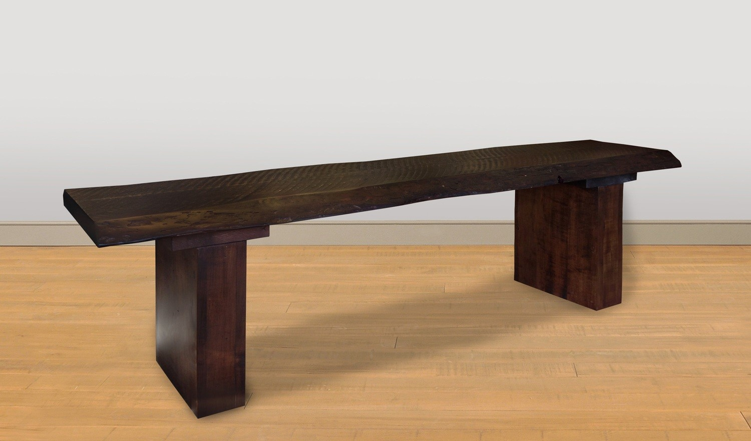 Live Edge Bench by Ruff Sawn