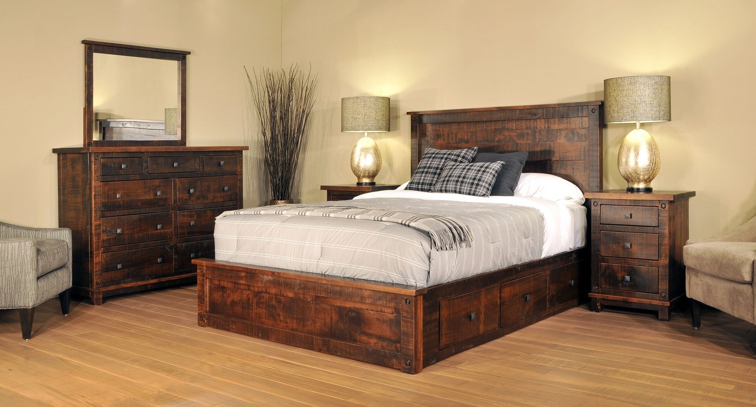 Muskoka Bedroom Set by Ruff Sawn