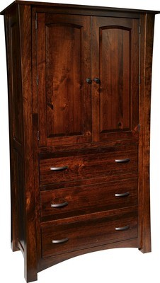 Woodbury Armoire by Farmside Wood
