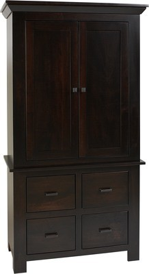 Horizon Shaker Armoire by Farmside Wood