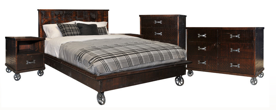 Steam Punk Bedroom Set by Ruff Sawn