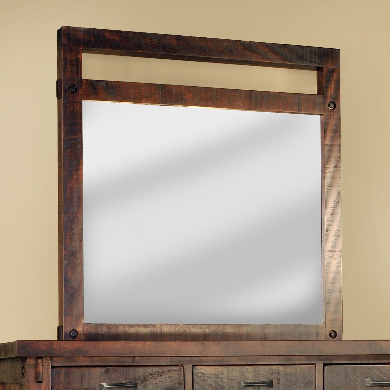 Timber Mirror by Ruff Sawn