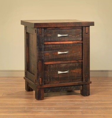 Timber Night Stand by Ruff Sawn