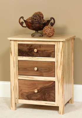 Cornwell 3 Drawer Night Stand by Farmside Wood