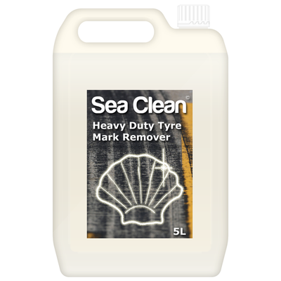 Heavy Duty Rubber Tyre Mark Remover - 5 Litres - Sea Clean