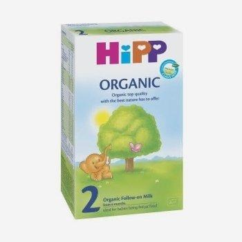 Hipp 2 Organic Milk  300г