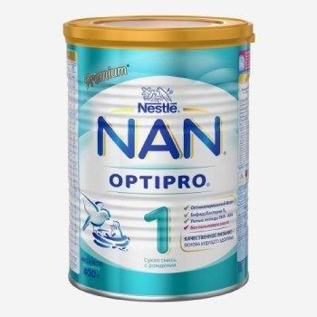 Nan 1 сухая молочная смесь 400г