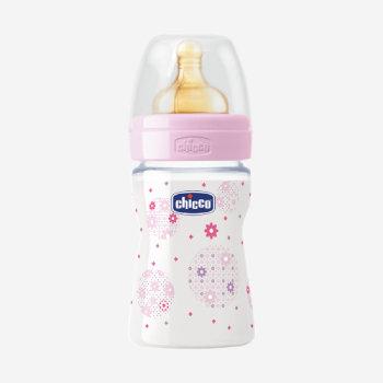 Chicco бутылка латекс 150мл стекло