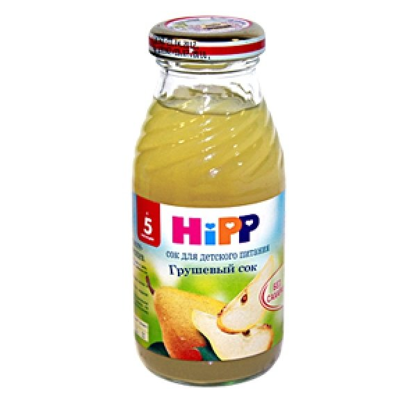 Hipp сок Грушевый 200мл
