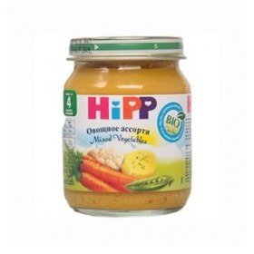 Hipp пюре  овощной  125г