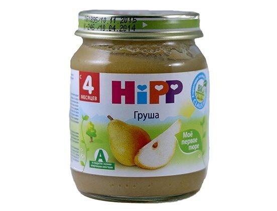 Hipp пюре груша (4мес)