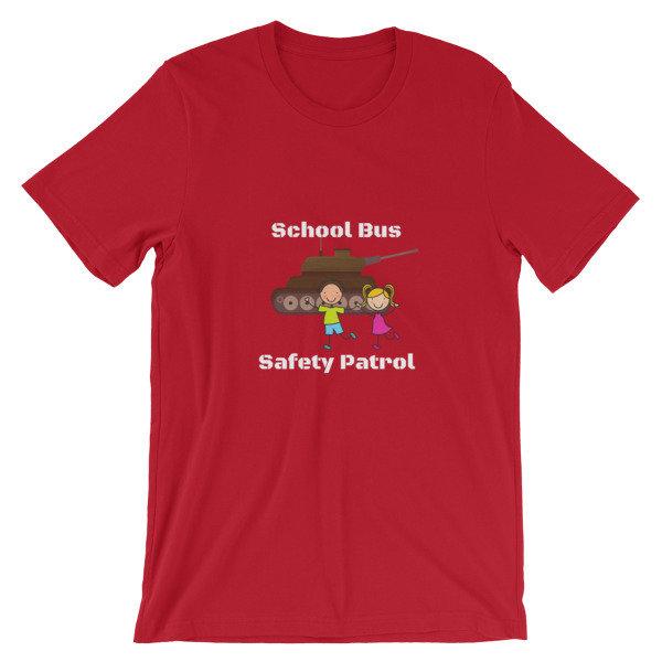 c7b41c1a4 School Bus Safety Patrol Short-Sleeve Unisex T-Shirt