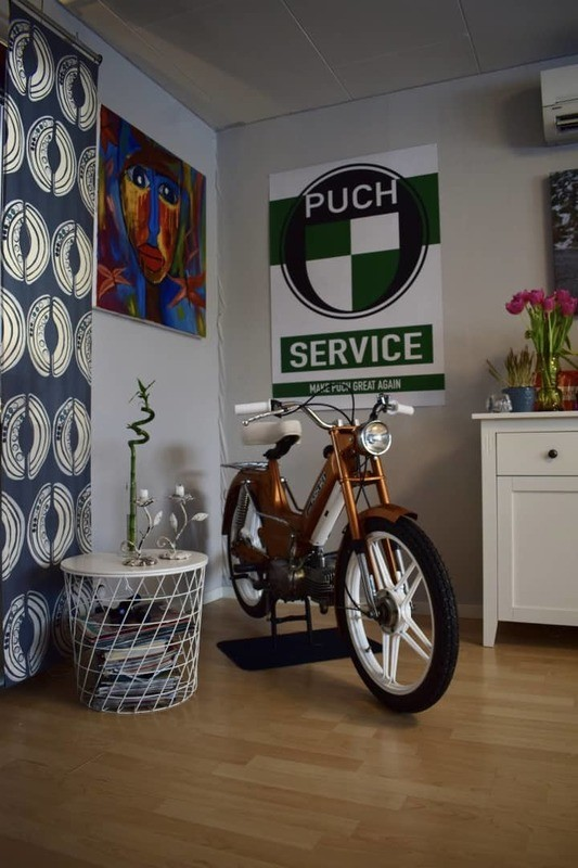 Puch Service Poster | FREE SHIPPING