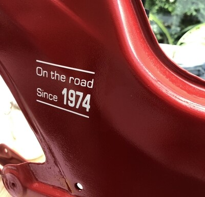 On The Road Since + YOUR BUILD YEAR | Vinyl Sticker