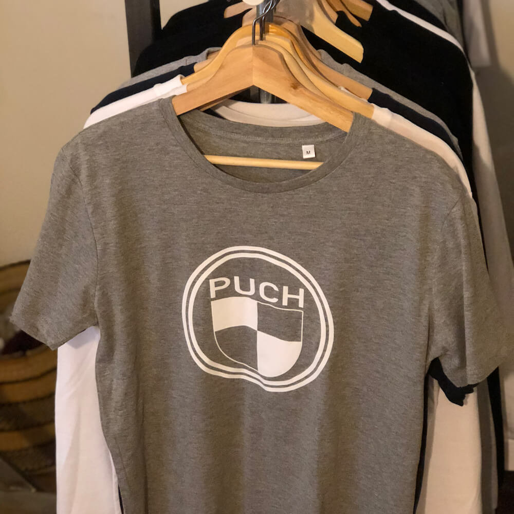 Puch T-Shirt | Grey & White