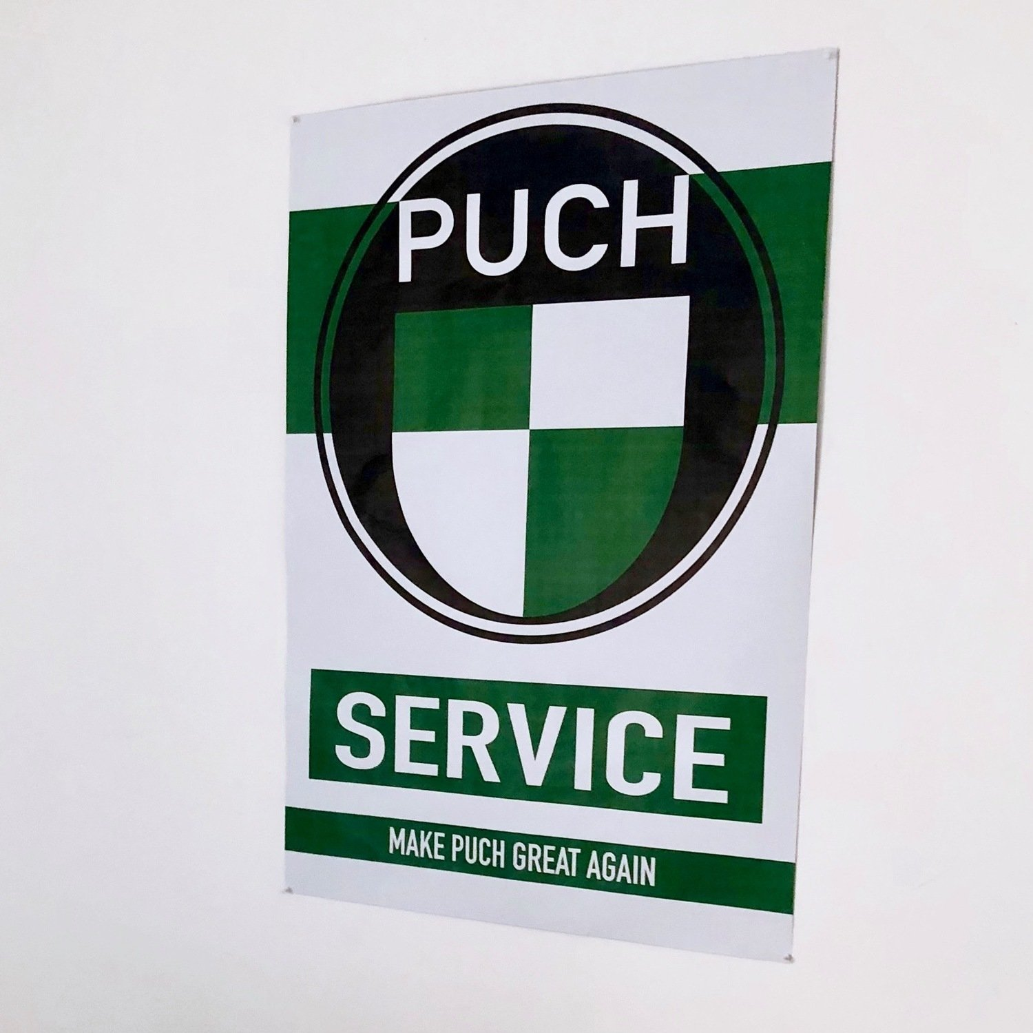 Puch Service Poster | A0 Large Format
