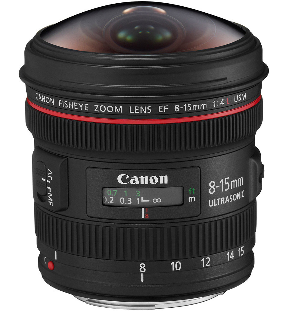 Canon EF 8-15mm f/4.0 L Fisheye 1144