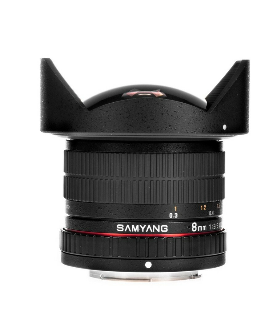 Samyang 8mm T3.8 Fish-eye CS II 1141