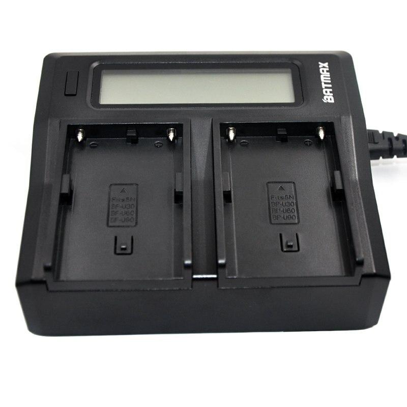 Двойное зарядное устройство BP-U30 BP-U60 BP-U65 BP-U90 1129