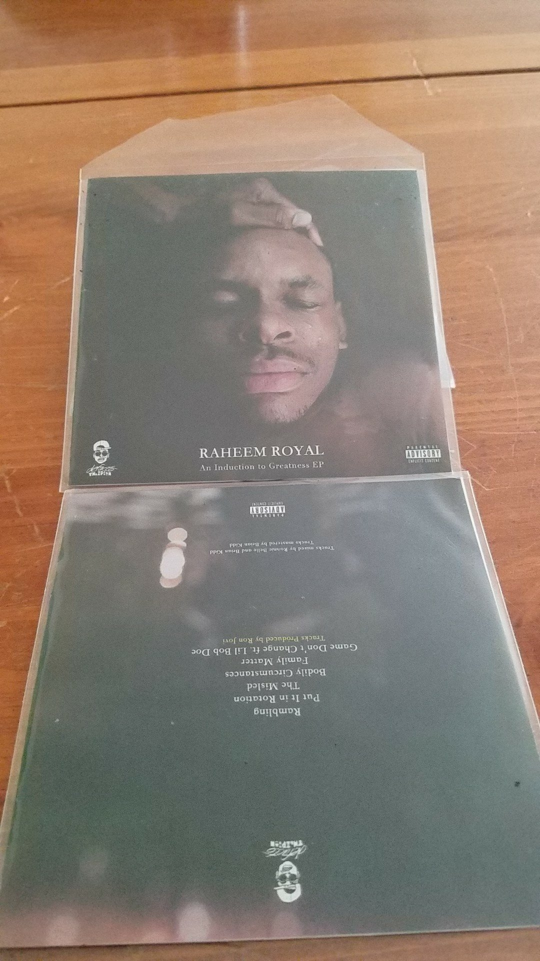 Raheem Royal: An Induction To Greatness EP Autographed 00002