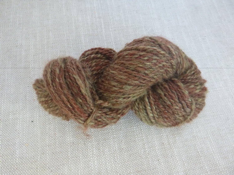 Handspun Yarn, 100% Wool