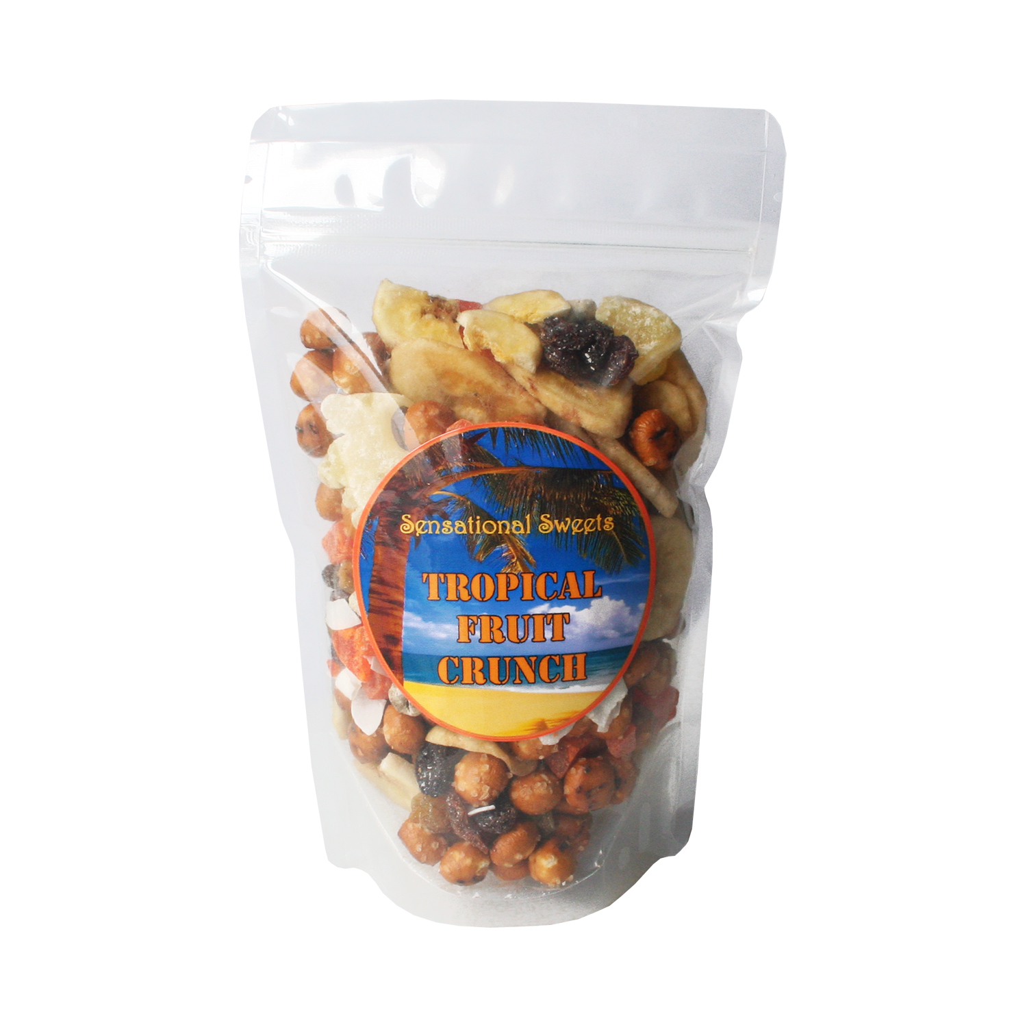 Tropical Fruit Crunch in Zip Bag (1/2 lb.) TMC102Z