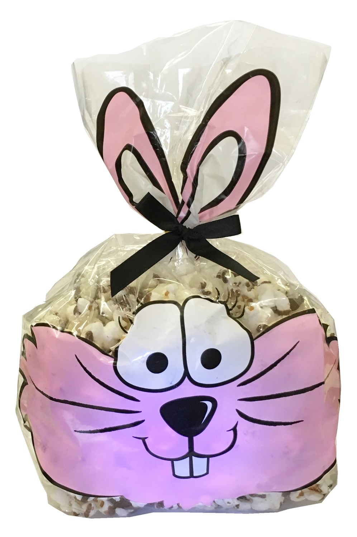 Gourmet Chocolate Drizzled Popcorn 3 oz. Bag w/bow
