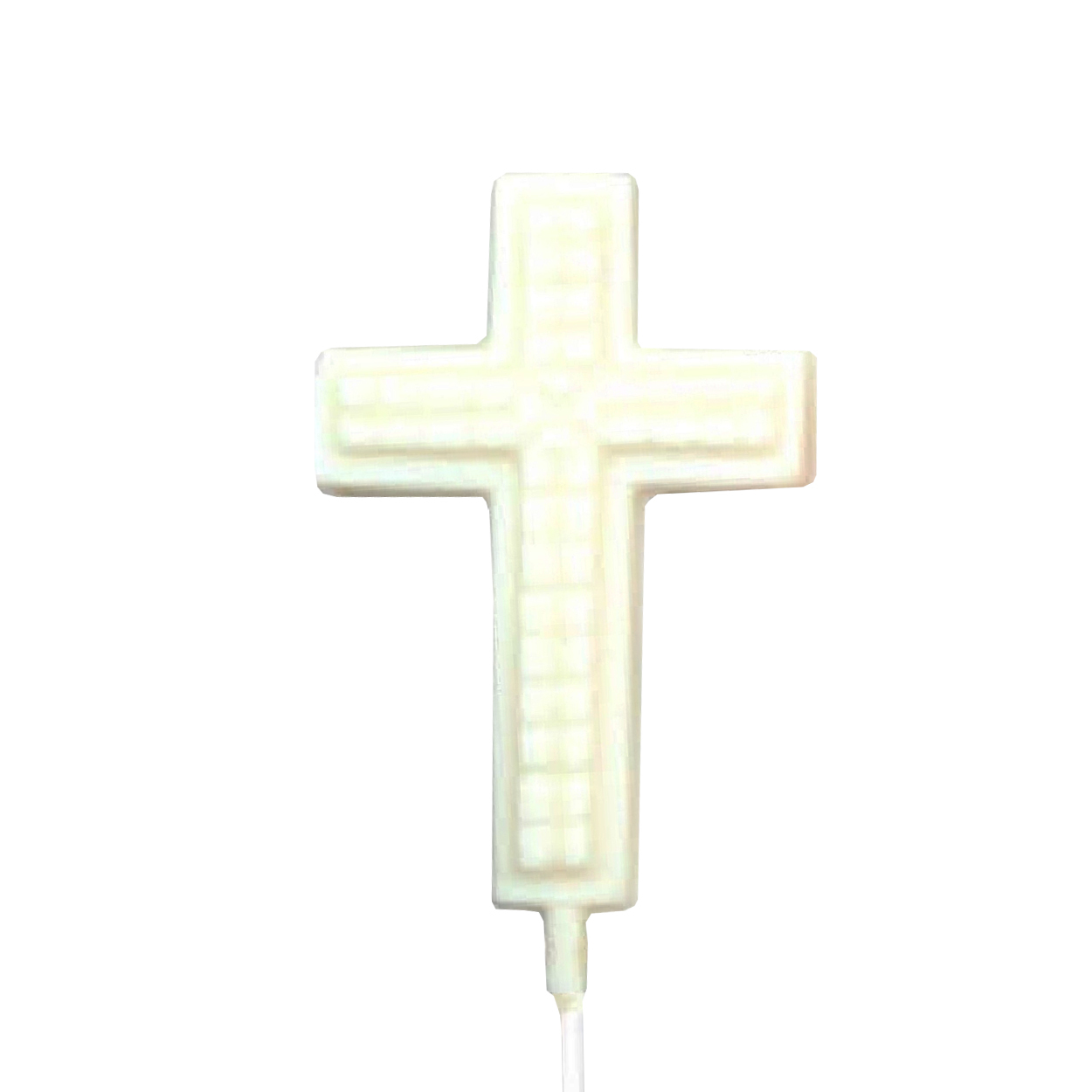 Chocolate Lollipops - Pollylops® - Cross with Prism 755