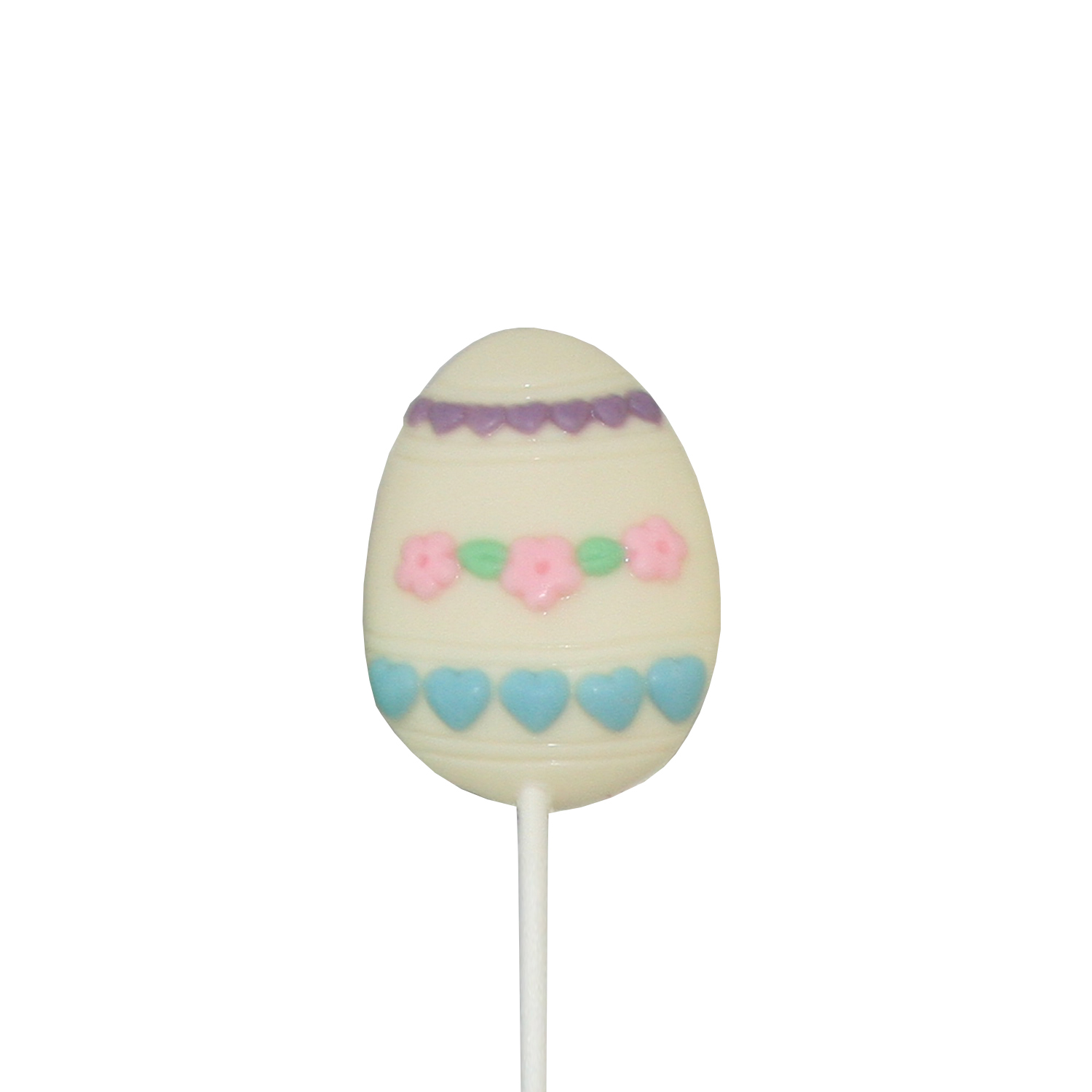 Chocolate Lollipops - Pollylops® - Painted Egg 301