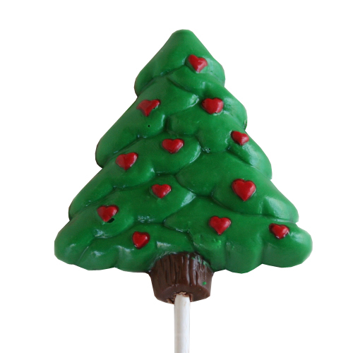 Chocolate Lollipops - Pollylops® - Tree with Hearts