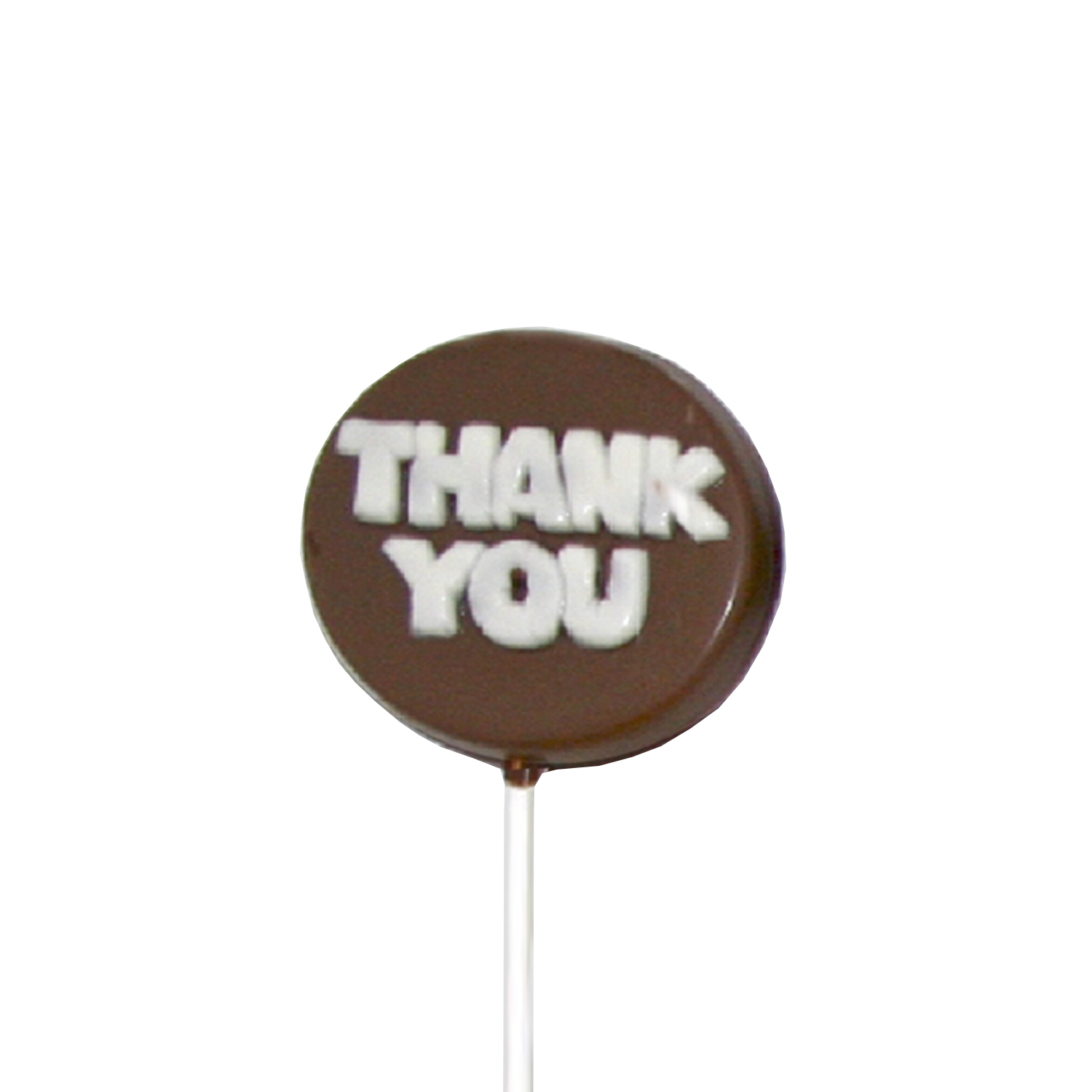Chocolate Lollipops - Pollylops® - Thank You 763