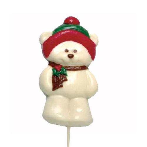 Chocolate Lollipops - Pollylops® - Big Bear - Wholesale W-105