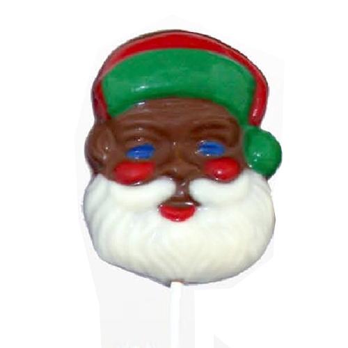 Chocolate Lollipops-Pollylop®-Santa Face/Wholesale W-126